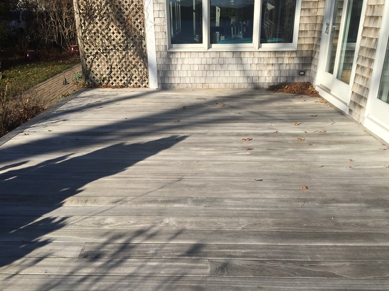 [AFTER] Deck and Shingles