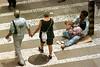 A beggars asks for money in Sao Paulo. (Douglas Engle/Australfoto)