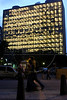 The Ministry of Education building in Rio de Janeiro, May 16, 2008, with almost all lights on.(Australfoto/Douglas Engle)
