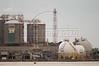 Petrobras oil company installations in the Guanabara Bay in Rio de Janeiro, March 28, 2004.(Douglas Engle/Australfoto)