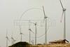 Modern windmills generate power in Fortaleza, in the northeastern Brazilian state of Ceara.(Douglas Engle/Australfoto)