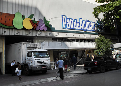 A signage of Pao de Acucar supermarket is displayed in front of a store in Flamengo neighborhood, Rio De Janeiro, Brazil, June 29, 2011. The proposed merger of french Carrefour SA with Cia. Brasileira de Distribuicao Grupo Pao de Acucar SA would be reviewed by local regulators together with other recent acquisitions by Pao de Acucar, the president of the antitrust agency said. (Austral Foto/Renzo Gostoli)
