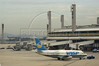 A Vasp Airlines jet at the Rio de Janeiro International Airport, RJ, April 5, 2004. Vasp has since stopped operations.(Douglas Engle/Australfoto)