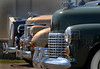 A  Lasalle '37, left, a Cadillac '38, and a Cadillac '41, right, are displayed at Forte de Copacabana (Copacabana Fort) in Copacabana beach, during a annual exhibition of the Veteran Car Club do Brasil, Rio de Janeiro, Brazil, Set. 8, 2007. About 200 old cars participate at this annual meeting.    (AustralFoto/Renzo Gostoli)
