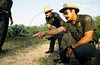 US Border Patrol agents on patrol near Laredo, Texas, USA. (Australfoto/Douglas Engle)
