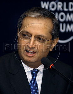 Vikram Pandit, CEO, Citi, USA participates at World Economic Forum, Rio de Janeiro, Brazil, April 28, 2011. (Austral Foto/Renzo Gostoli)