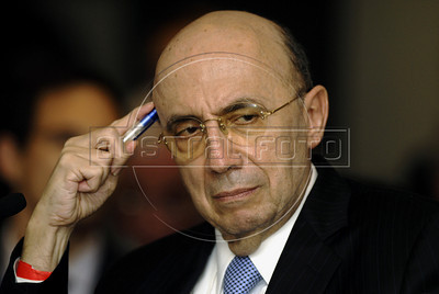 Henrique Meirelles,president of Olympic Public Authority, Brazil, participates at World Economic Forum, Rio de Janeiro, Brazil, April 28, 2011. (Austral Foto/Renzo Gostoli)