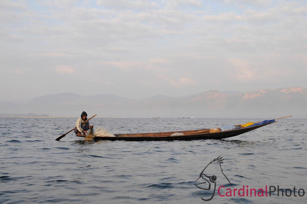 Inle Lake Area, Shan State, Myanmar (Burma), Southeast Asia 1/ 250s, at f/16    E.Comp:-6 / 6    35mm    WB: AUTO 0.    ISO: 560    Tone:     Sharp:     Camera: NIKON D300on: 2009:01:14 07:45:01