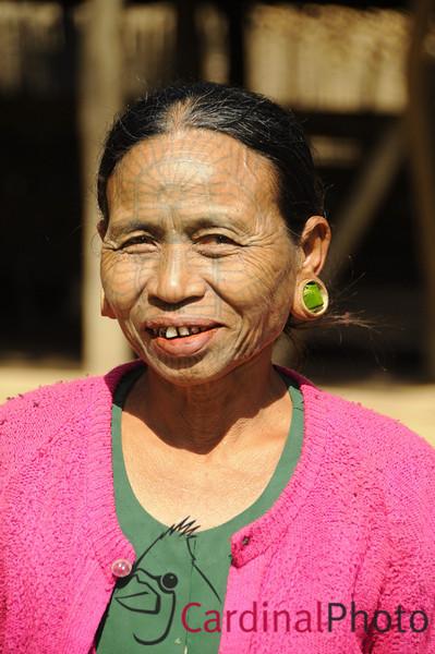 Mrauk U and Chin Villages, Rakhine Kingdom, Myanmar, Burma, Southeast Asia 1/ 1500s, at f/8 || E.Comp:-3 / 6 || 135mm || WB: AUTO 0. || ISO: 560 || Tone:  || Sharp:  || Camera: NIKON D300on: 2009:01:10 11:14:34