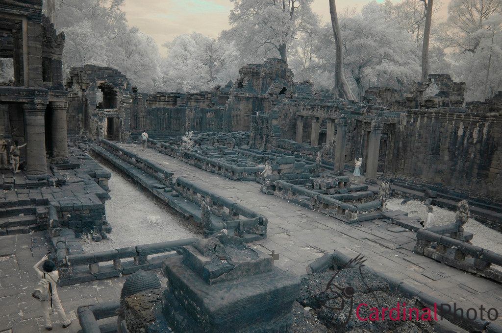 Angkor Temple Complex, Siem Reap, Cambodia, Asia 1/ 10s, at f/16 || E.Comp:0 || 18mm || WB: PRESET 0. || ISO: 200 || Tone: AUTO || Sharp: AUTO || Camera: NIKON D70on: 2008:12:27 16:27:43