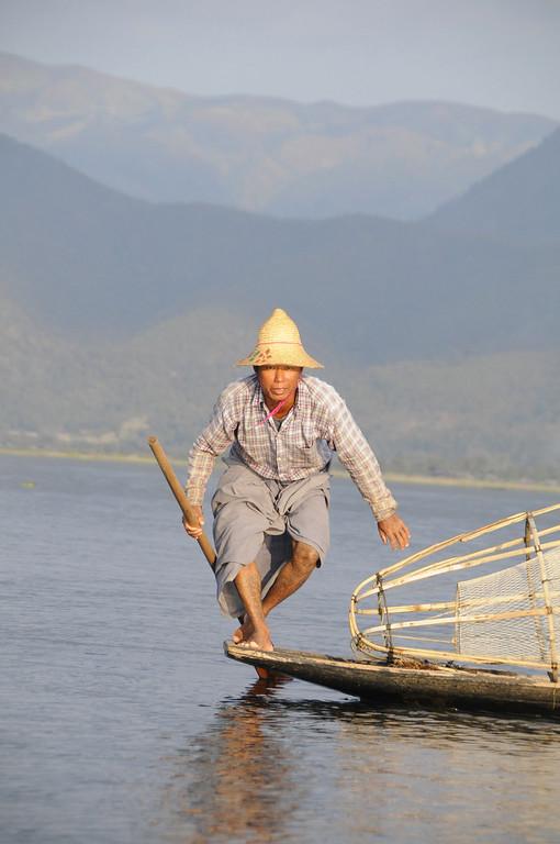 Inle Lake Area, Shan State, Myanmar (Burma), Southeast Asia 1/ 500s, at f/8    E.Comp:-3 / 6    112mm    WB: AUTO 0.    ISO: 400    Tone:     Sharp:     Camera: NIKON D300on: 2009:01:14 16:41:54