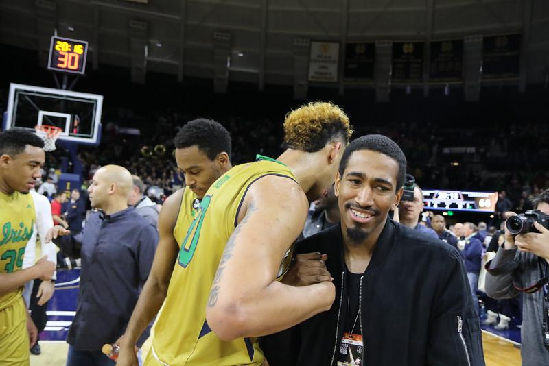 Notre Dame men's Basketball v Louisville