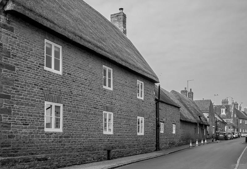 View along the High Street, Ecton, Northamptonshire