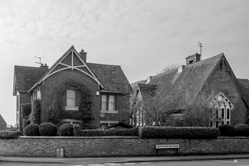 School and Schoolhouse, Northampton Road, Ecton, Northamptonshire