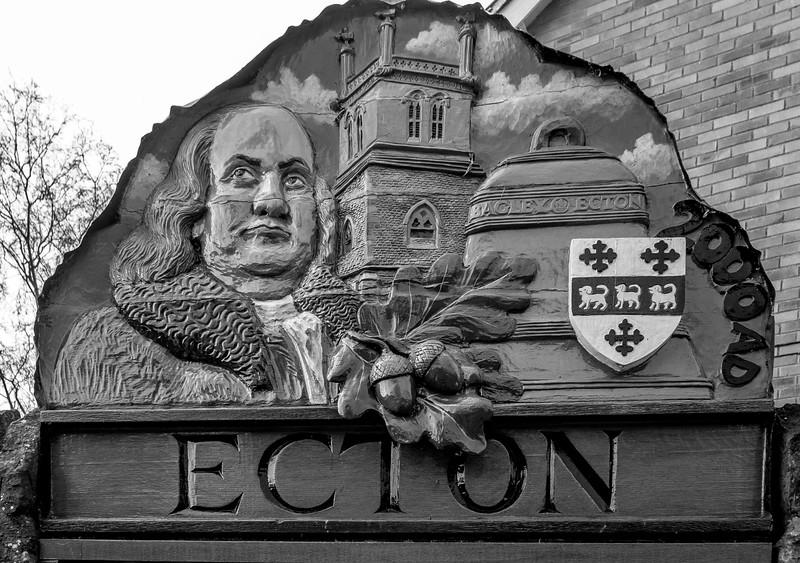 Village Sign, High Street, Ecton, Northamptonshire