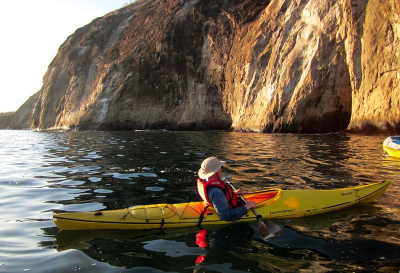 Ken's sunrise kayaking adventure