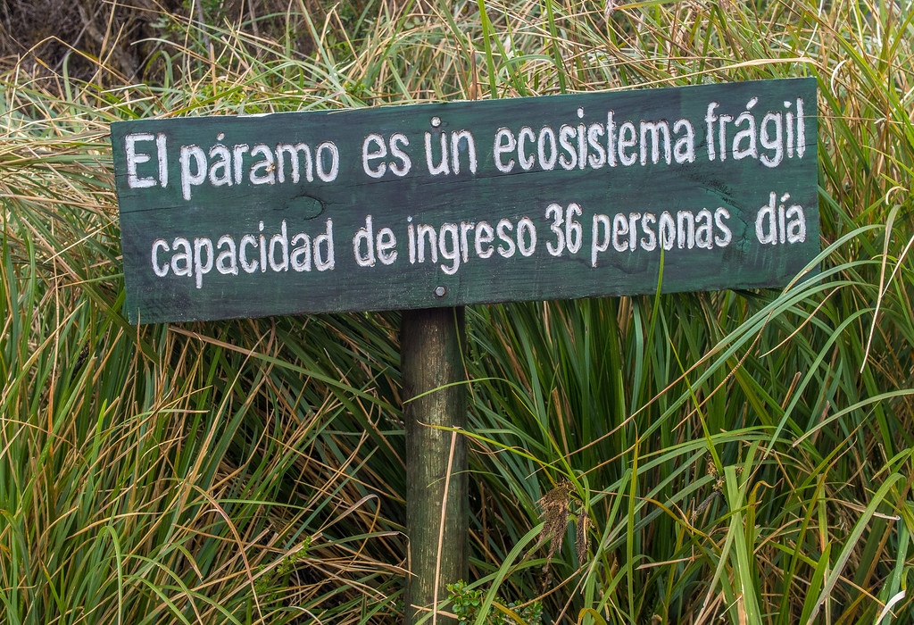 Cayambe Coca Ecological Reserve - 36 people allowed in daily