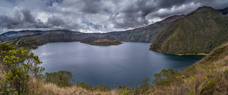 Laguna de Cuicocha - Lake of the Guinea Pigs