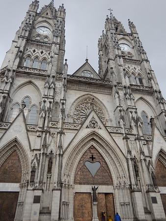 Quito, La Basilica, March 4
