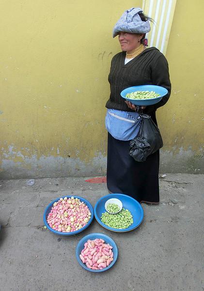 Bean vendor