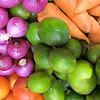 Fruit and vegetables at Otavalo market