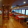 Ship dining area