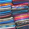 Blankets at Otavalo market