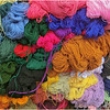 Yarn at Otavalo market