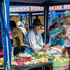Saturday food market, Vilcabamba, Ecuador