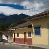 Houses in Vilcabamba, Ecuador.