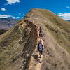Hiking near Vilcabamba, Ecuador
