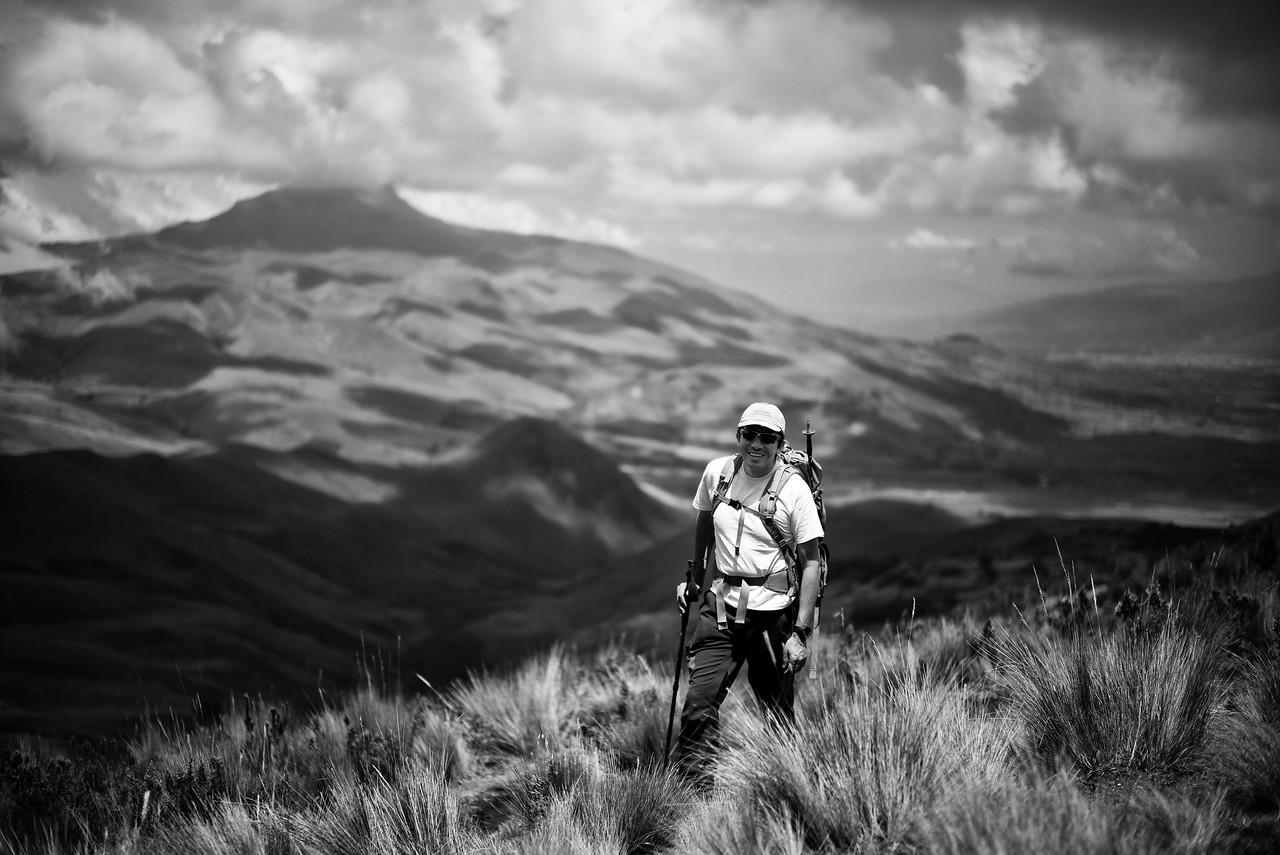Ossy Hiking Illinizas