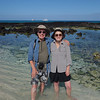 Ken and Bev at Cerro Brujo Beach