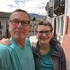 Ken and Bev Selfie in Old City