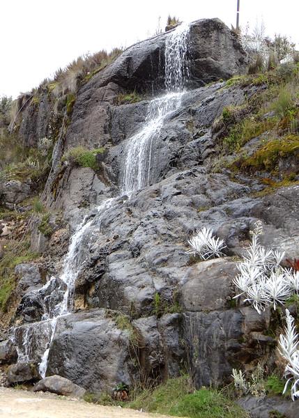 6/23/15 - Waterfall at Rancho Hnos Prado.