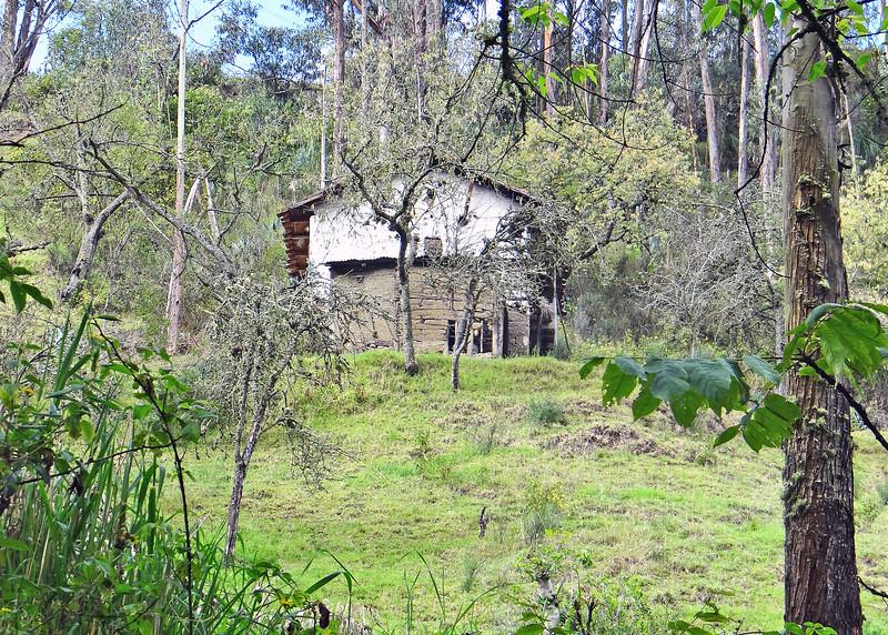7/26/15 -  Walking to the Los Boquerones caves, located in the parish Luis Cordero.