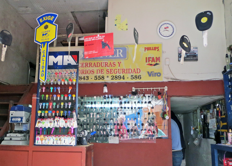 This is one of the key stores along the street where you can get duplicate keys.