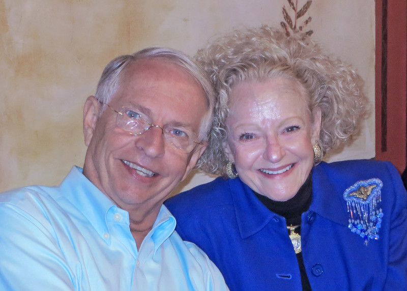 6/20/15 - Ton and Nancy at Joe's Secret Garden