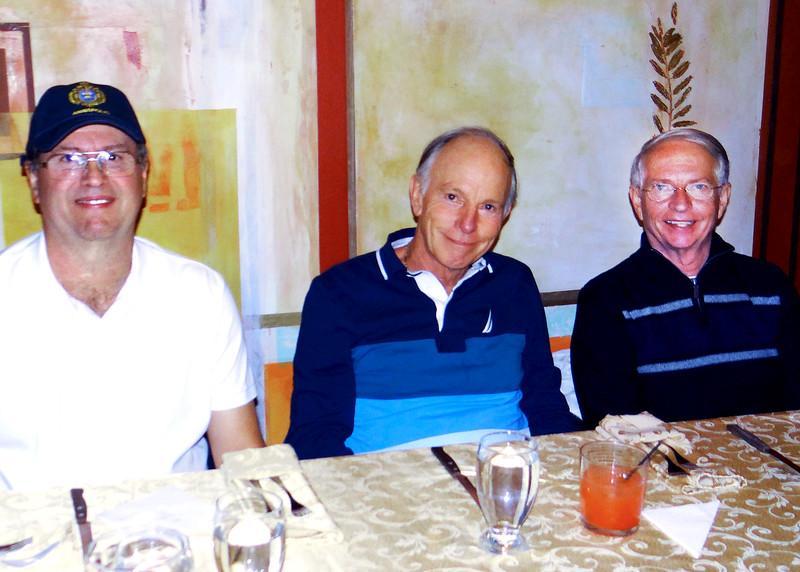 6/27/15 - Jim, David and Tom at Joe's Secret Garden