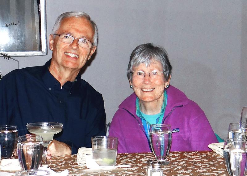 6/27/15 - Bob and Susan at Joe's Secret Garden