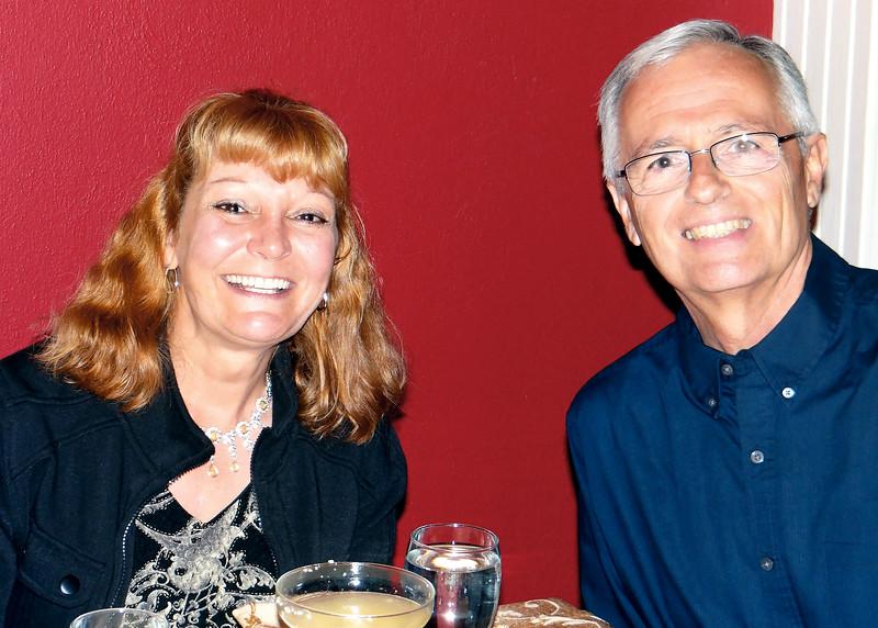 6/27/15 - Debi and Bob at Joe's Secret Garden