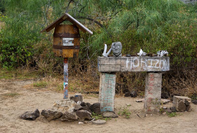 Post Office Bay, Floreana Island