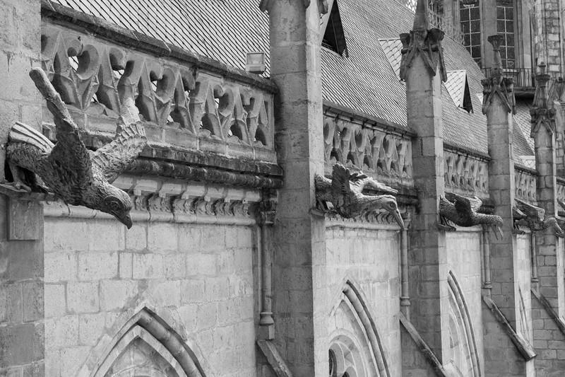 La Basilica gargoyles
