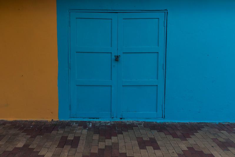 Door, Puerto Baquerizo Moreno, San Cristobal Island