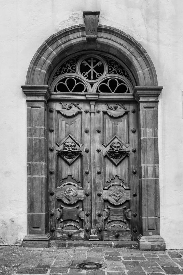 Church door, Quito