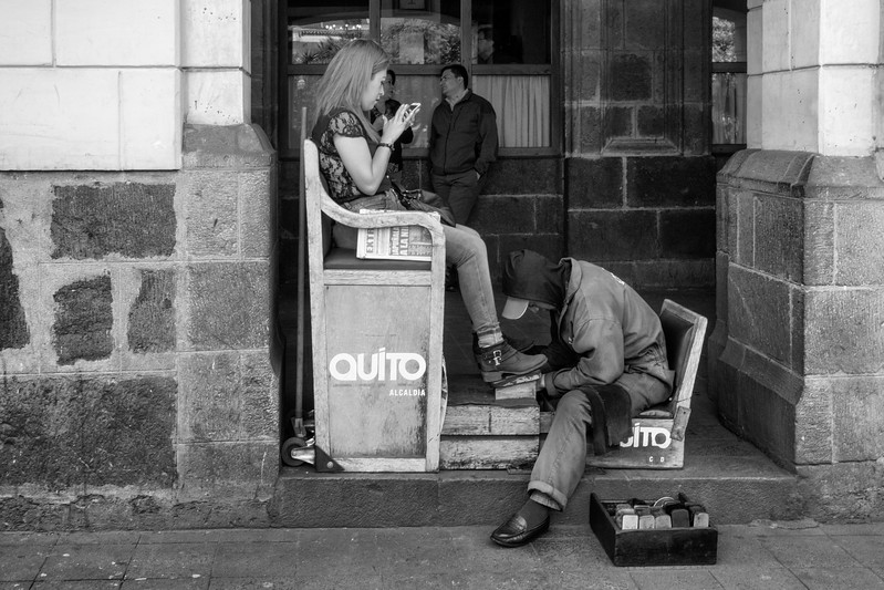 Shoeshine, Quito