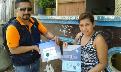 Diageo Water Filter Donation May 2016