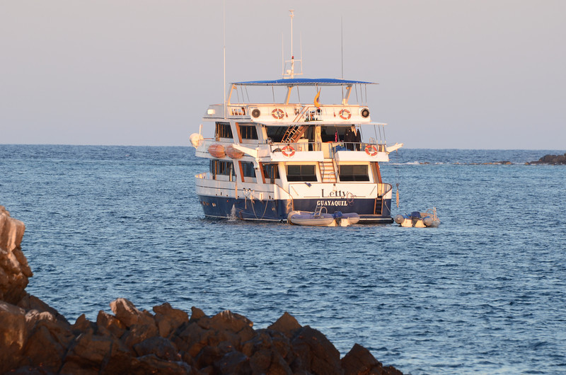 Ecoventura's M/Y Letty in the Galapagos