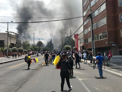 Las Protestas, Quito, October 12, 2019