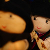 "Ecuadorian Andean themed dolls for sale at a tourist market - Quito, Ecuador.  This is a travel photo from Quito, Ecuador. <a href=""http://nomadicsamuel.com"">http://nomadicsamuel.com</a>"